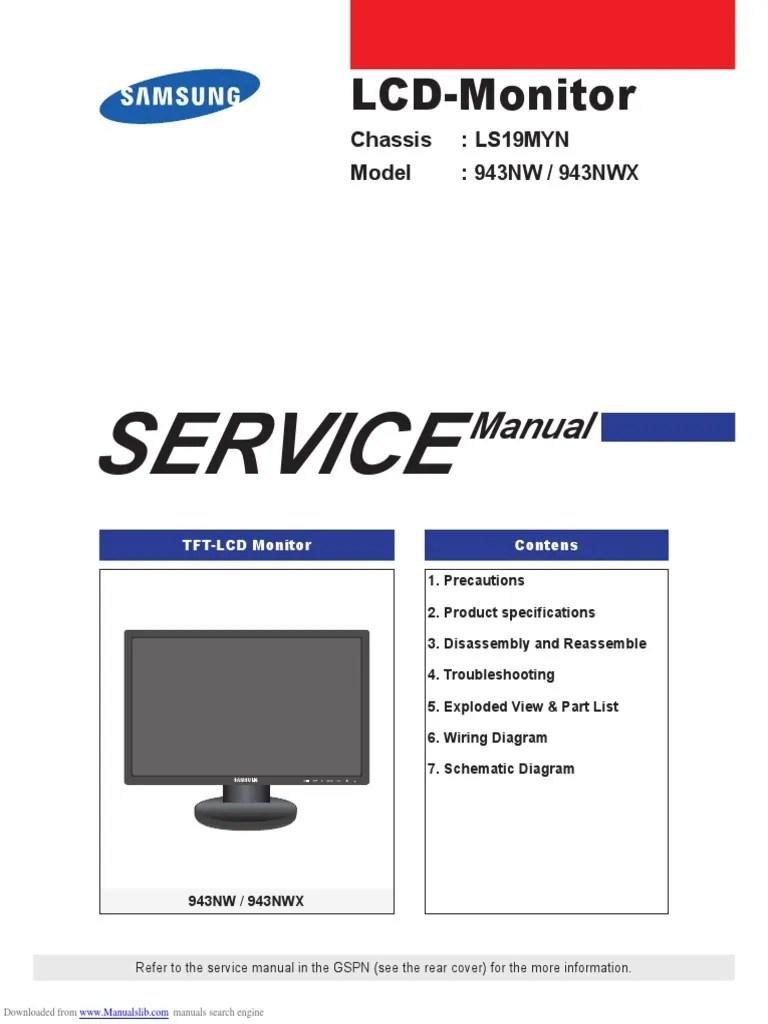 medium resolution of computer monitor wiring diagram