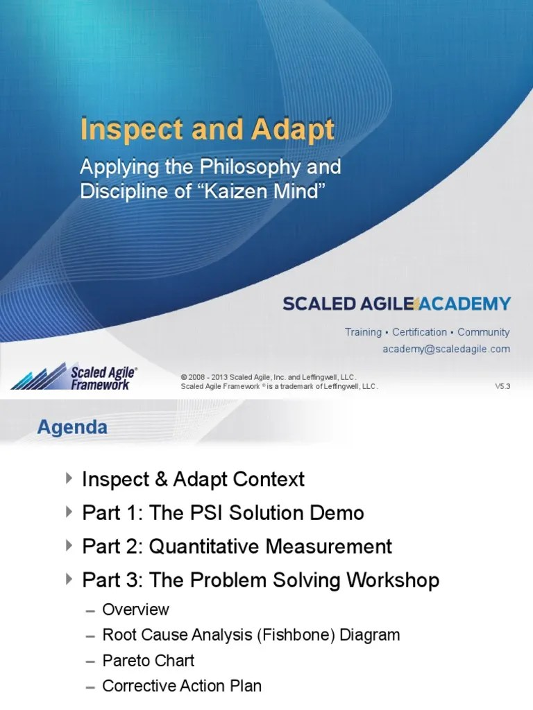hight resolution of inspect and adapt template v5 3 causality agile software development
