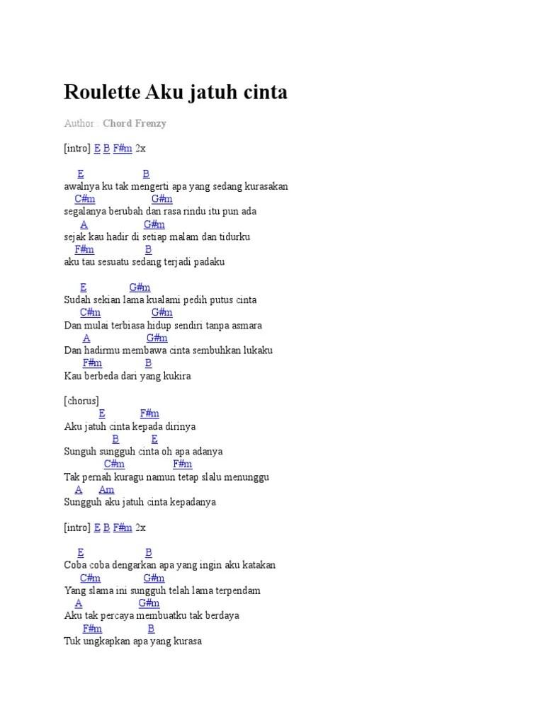 Download Lagu Roulette Aku Jatuh Cinta Original : download, roulette, jatuh, cinta, original, Roulette, Jatuh, Cinta.docx