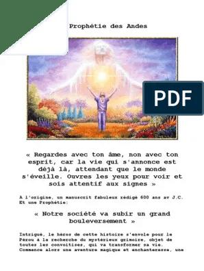 La Prophétie Des Andes Pdf : prophétie, andes, Prophetie, Andes, Conscience, Spiritualité