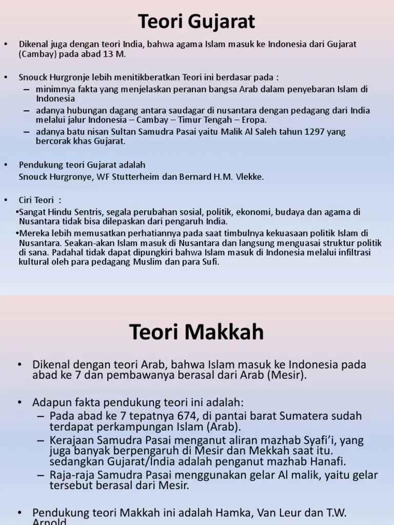 Teori Masuknya Agama Islam Di Indonesia : teori, masuknya, agama, islam, indonesia, Jelaskan, Proses, Masuknya, Agama, Islam, Indonesia, Menurut, Teori, Gujarat