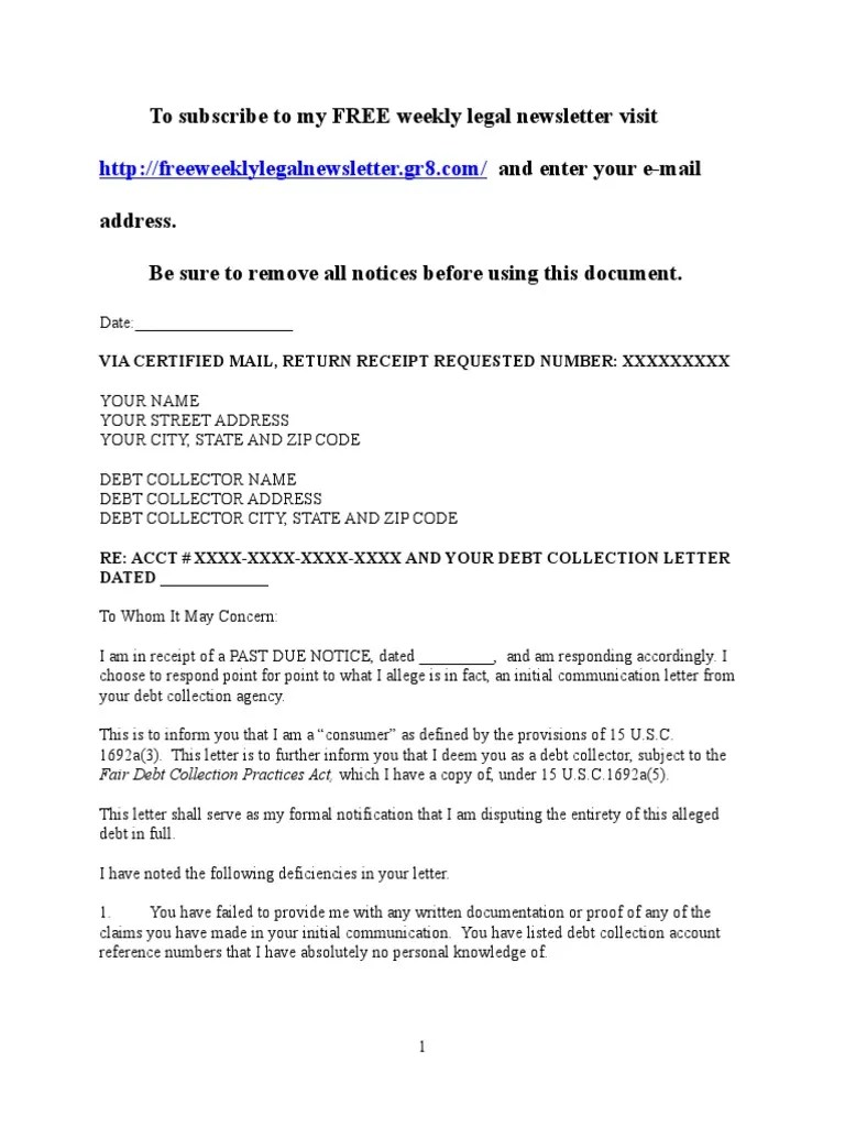 Bill Collector Cover Letter Debt Collector Cover Letter Bunch Ideas Of Cover Letter To