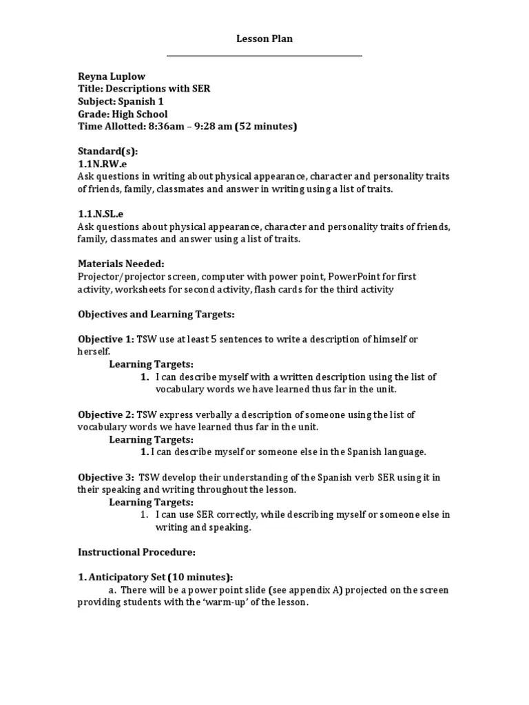 medium resolution of List Of School Subjects In Spanish - School Style
