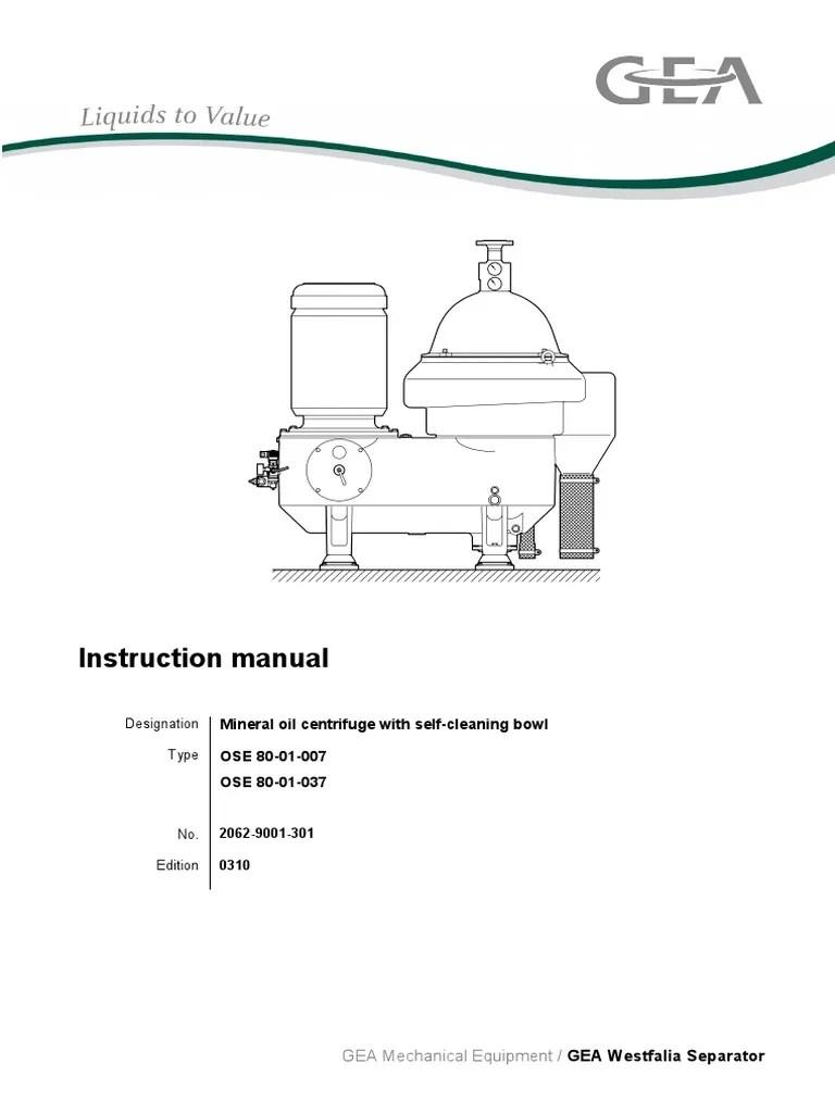 medium resolution of westfalia separator o m manual model oso 80 01 007 switch mechanical engineering