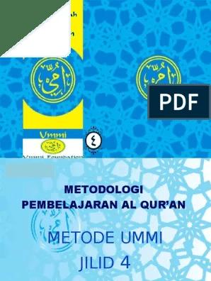 Download Buku Metode Ummi Pdf : download, metode, Metode, Jilid, S⁄d, Belajar, Mudah, Membaca, Quran, Otosection