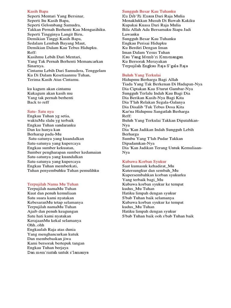Lirik Lagu Ku Dibri Kuasa : lirik, dibri, kuasa, Lirik