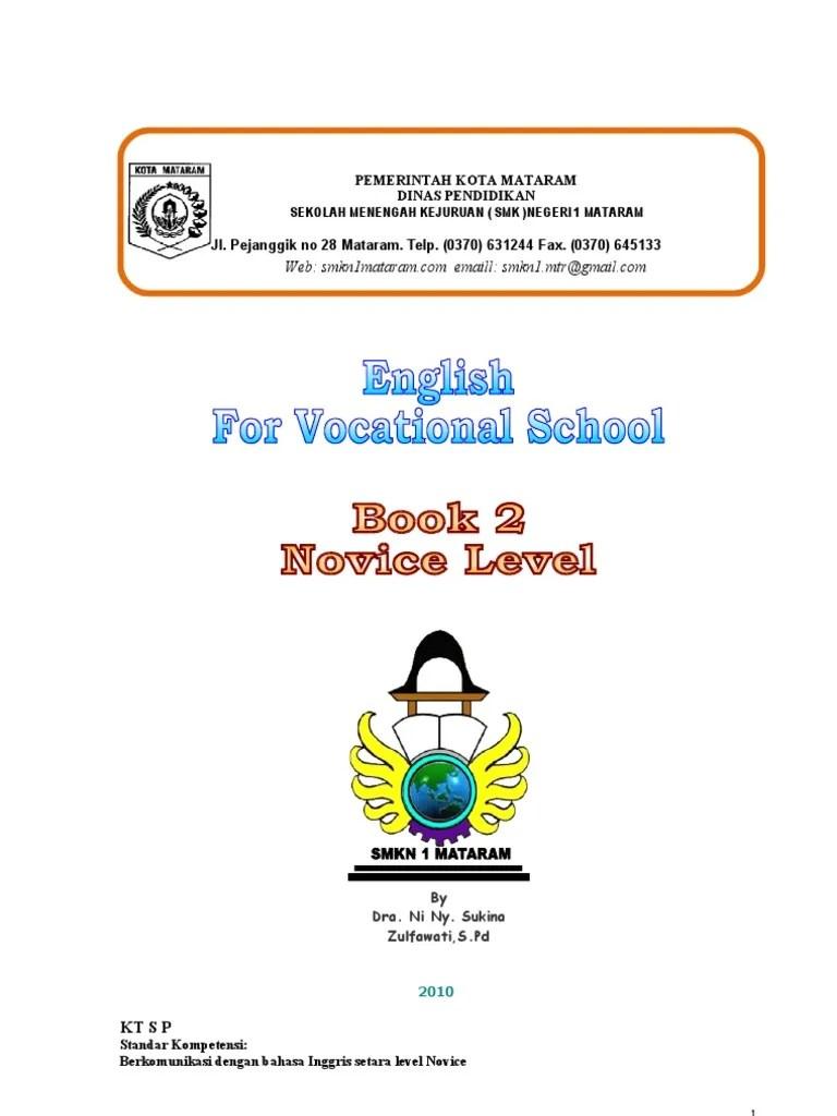 Sekolah Menengah Kejuruan In English : sekolah, menengah, kejuruan, english, Inggris