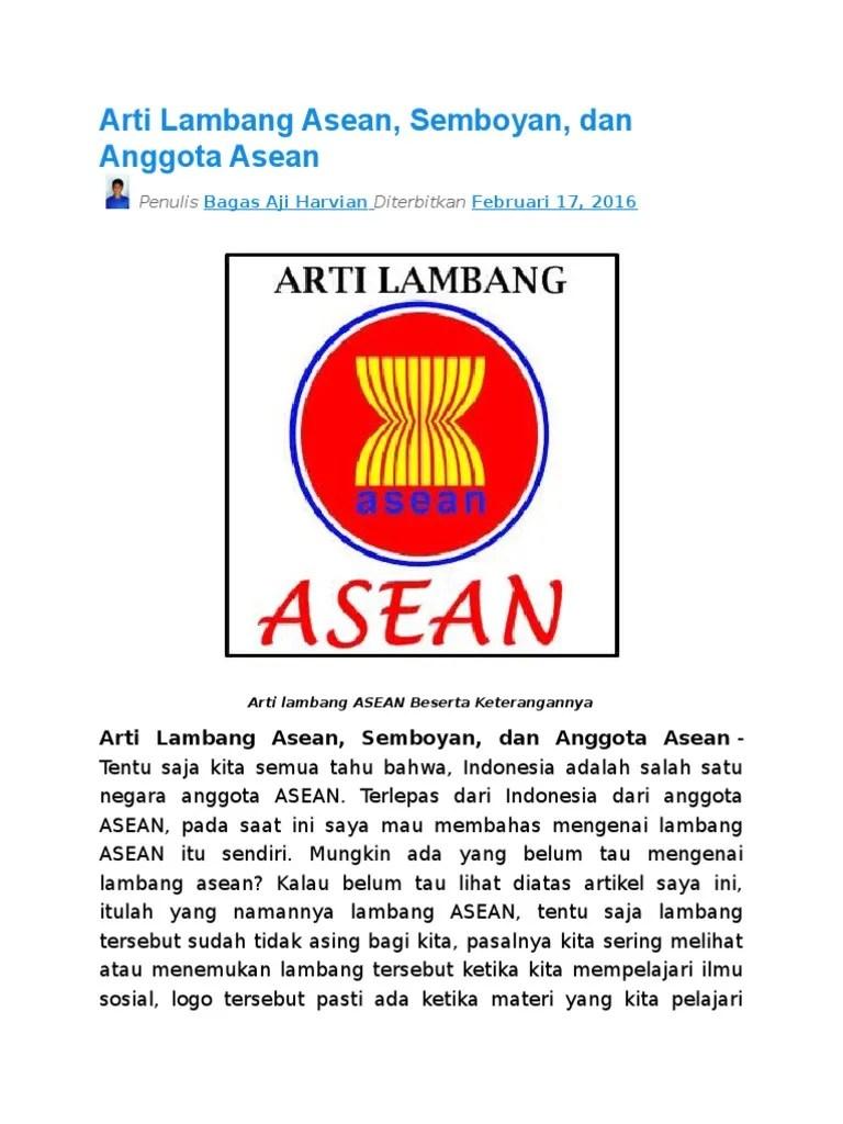 Gambar Logo Asean : gambar, asean, Gambar, Asean, Beserta, Artinya, Background, Phone