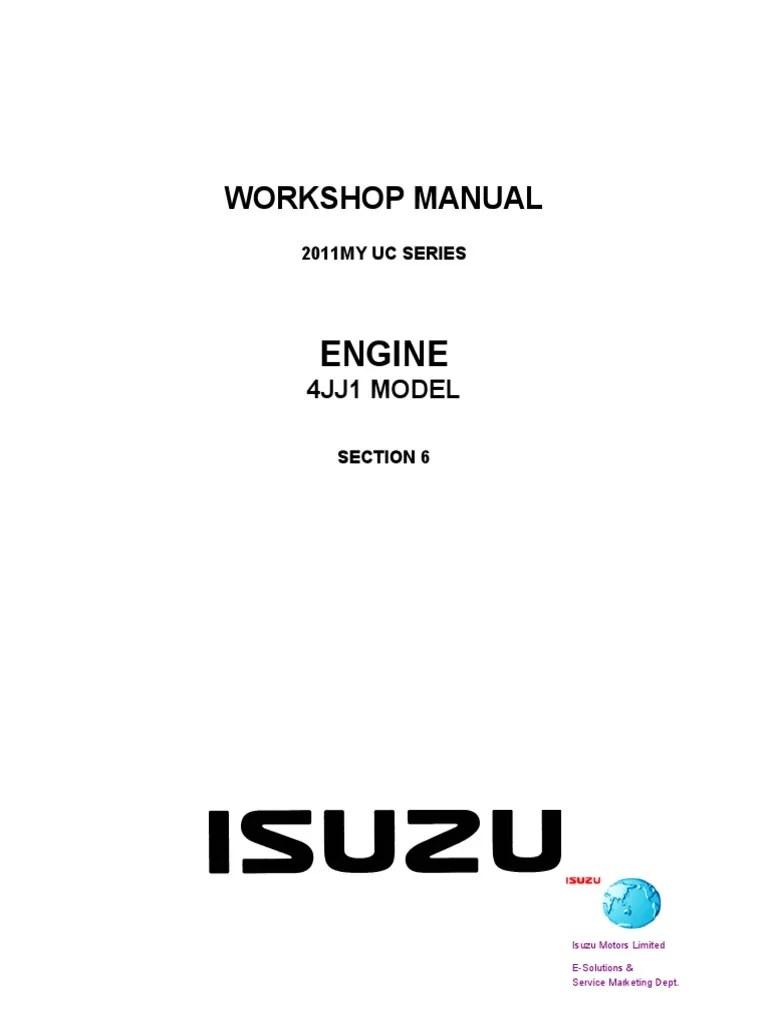 medium resolution of 2013 isuzu dmax workshop manual