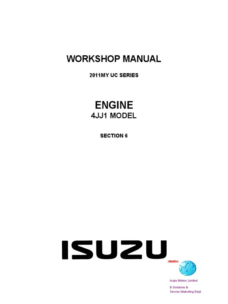 hight resolution of 2013 isuzu dmax workshop manual