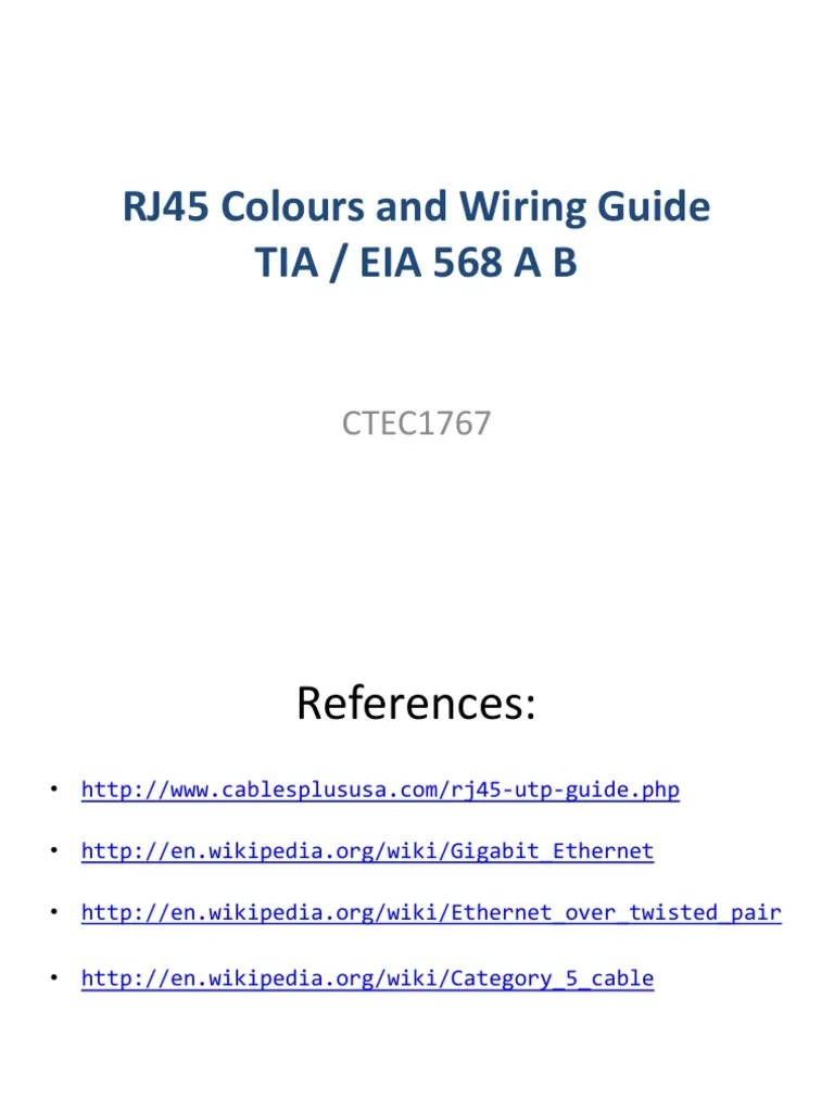 small resolution of rj45 colours and wiring guide telecommunications infrastructure computer networking