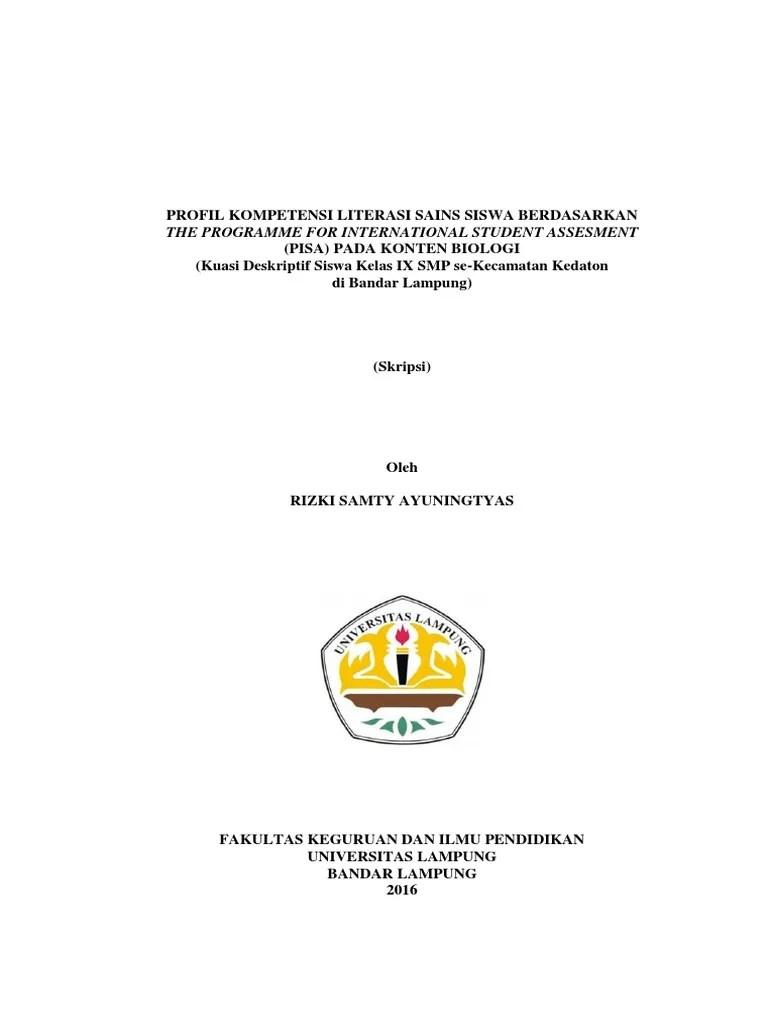 Contoh Judul Skripsi R D Pendidikan Terkait Pendidikan Cute766