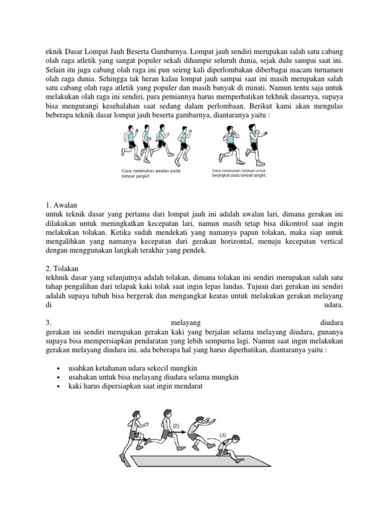 Tahapan Dalam Lompat Jauh : tahapan, dalam, lompat, Eknik, Dasar, Lompat, Beserta, Gambarnya