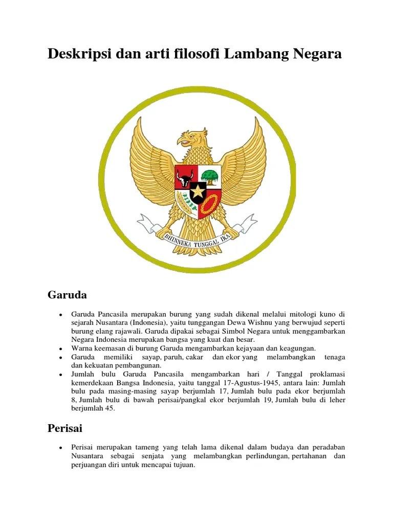 Filosofi Perisai : filosofi, perisai, Deskripsi, Filosofi, Burung, Garuda.docx