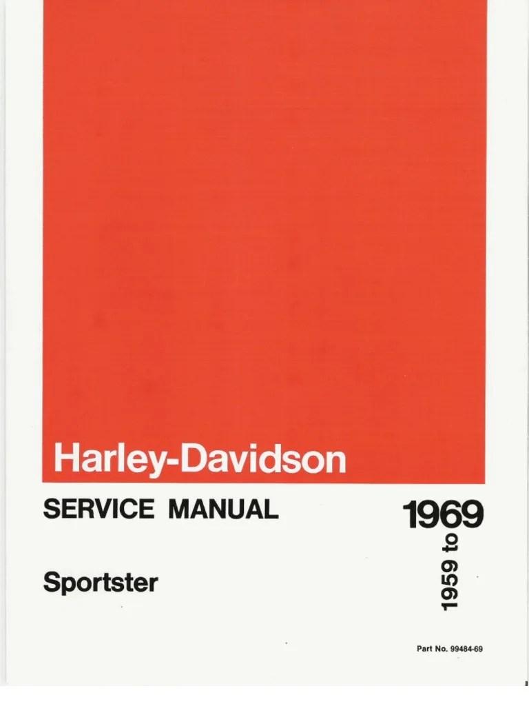 medium resolution of 1959 1969 harley davidson sportster service manual carburetor ignition system
