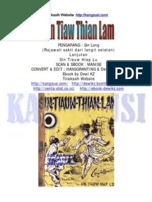 Sin Tiauw Thian Lam : tiauw, thian, SinTiawThianLam-DewiKZ-TMT