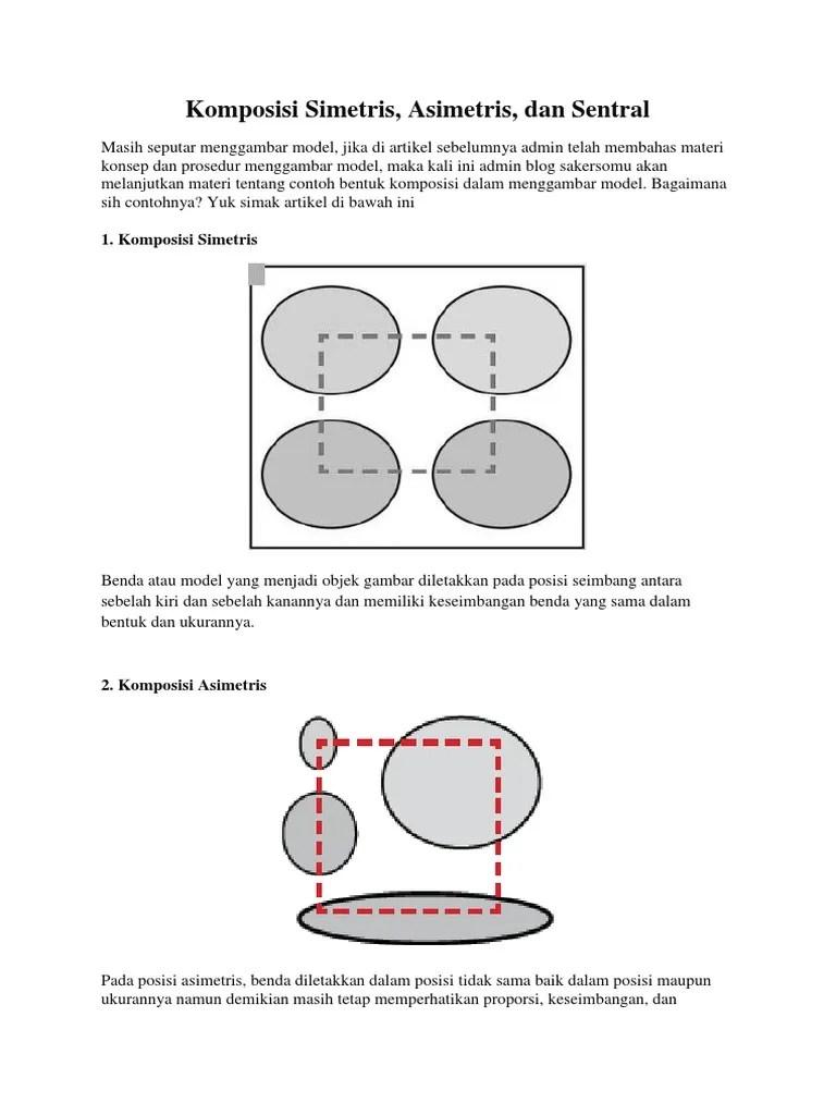 Gambar Komposisi Sentral : gambar, komposisi, sentral, Komposisi, Simetris,, Asimetris,, Sentral