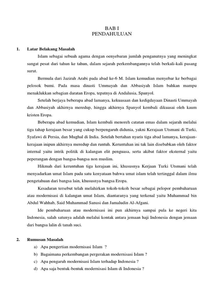 Pengaruh Gerakan Modernisasi Islam Terhadap Perkembangan Islam Di Indonesia : pengaruh, gerakan, modernisasi, islam, terhadap, perkembangan, indonesia, Pengaruh, Modernisasi, Islam, Terhadap, Indonesia
