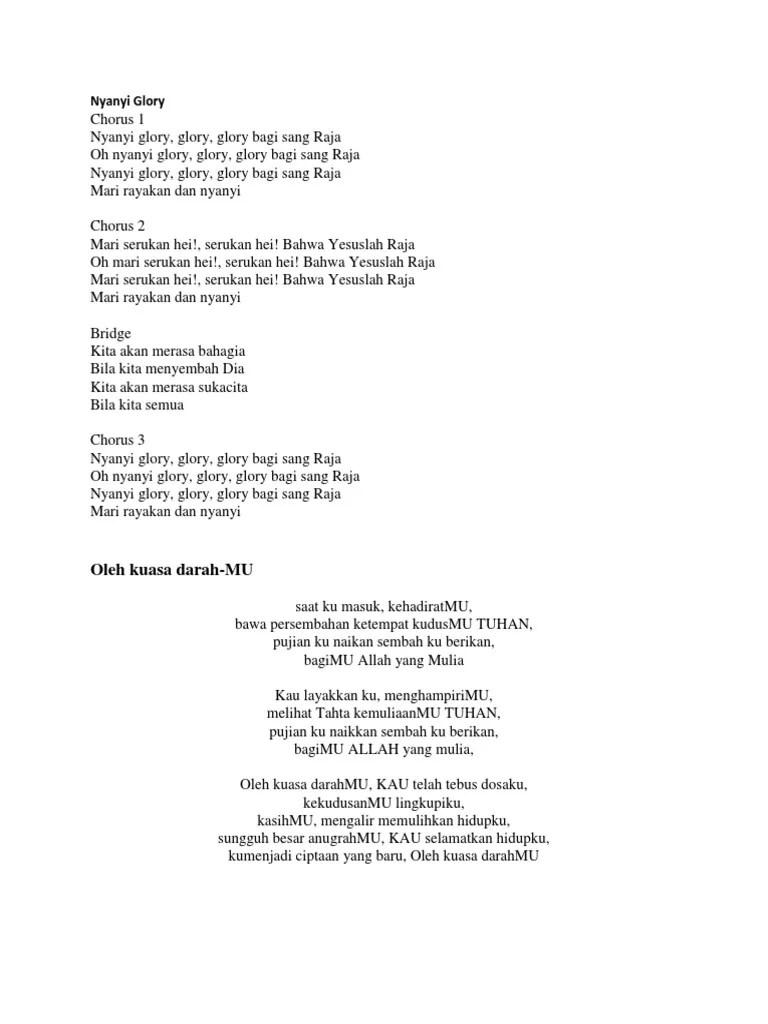 Chord Gitar Doa Yabes : chord, gitar, yabes, Lirik, Rohani, Masuk, Kehadiratmu