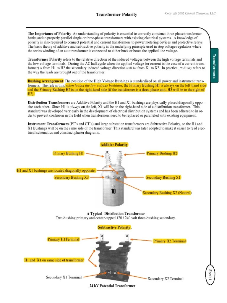 potential transformer three phase wiring diagram [ 768 x 1024 Pixel ]