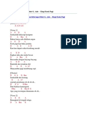 Lirik Lagu Elegi Esok Pagi : lirik, elegi, Download, Elegi, Cover, Pigura