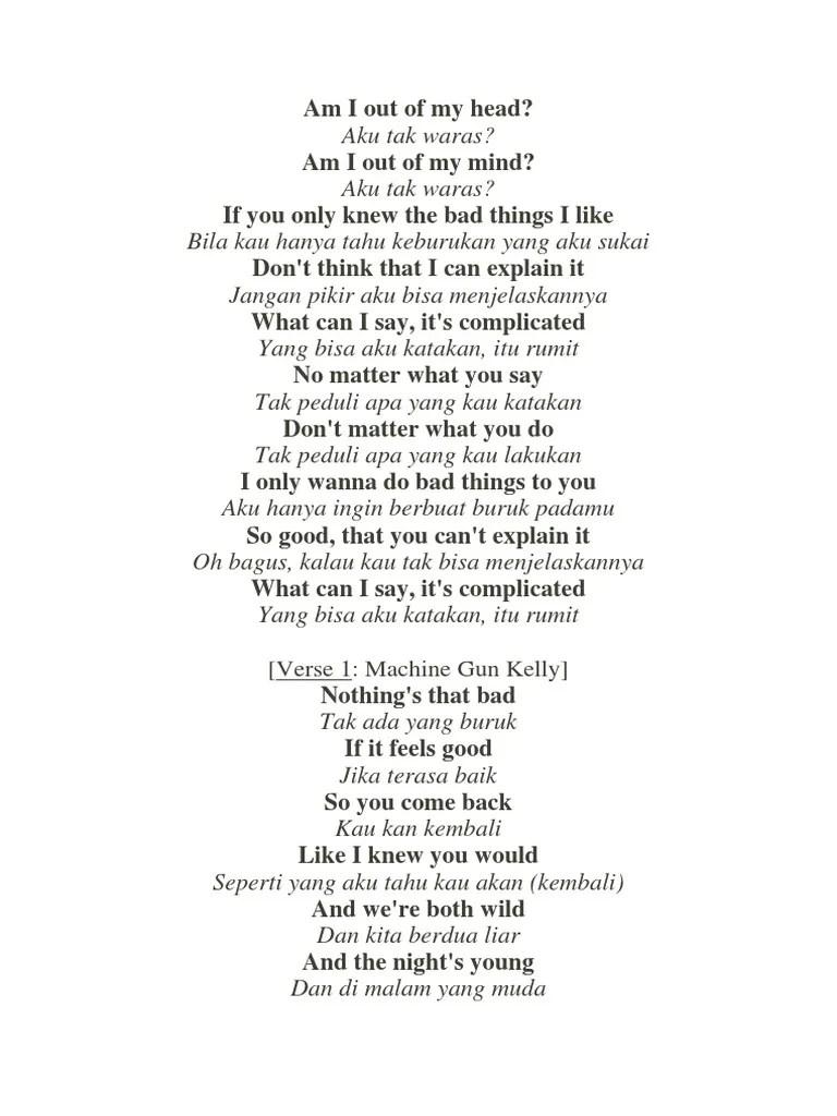 Arti dan Lirik Imagine Dragons - Bad Liar - Lirik-terjemahan