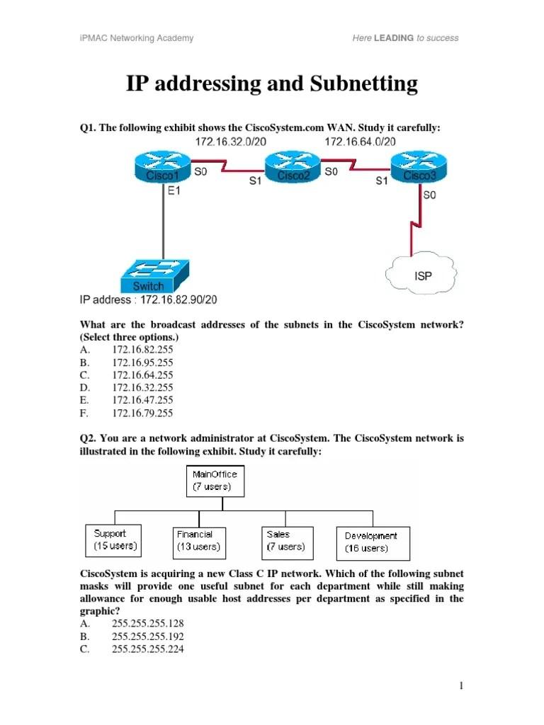subnet mask diagram [ 768 x 1024 Pixel ]