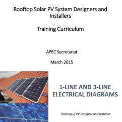 Three Line Solar Diagram Nibco Butterfly Valve Wiring 15 1 And 3 Diagrams Technical Drawing Electrical Engineering