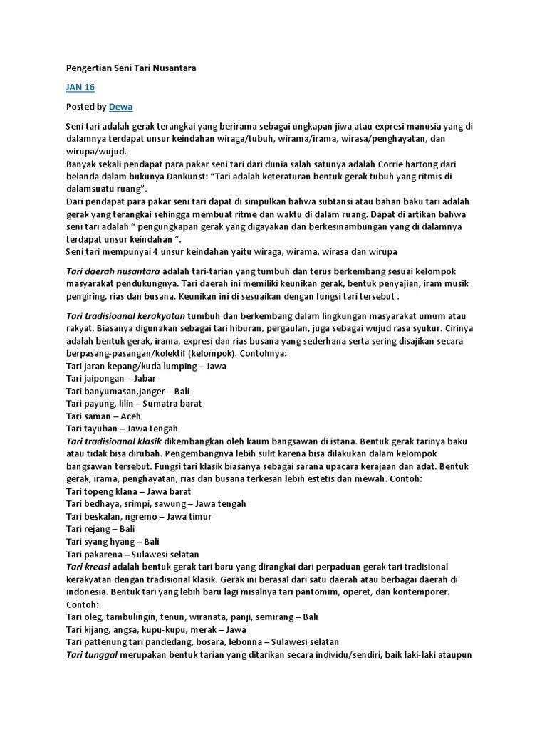 Pengertian Tari Kelompok Nusantara : pengertian, kelompok, nusantara, Pengertian