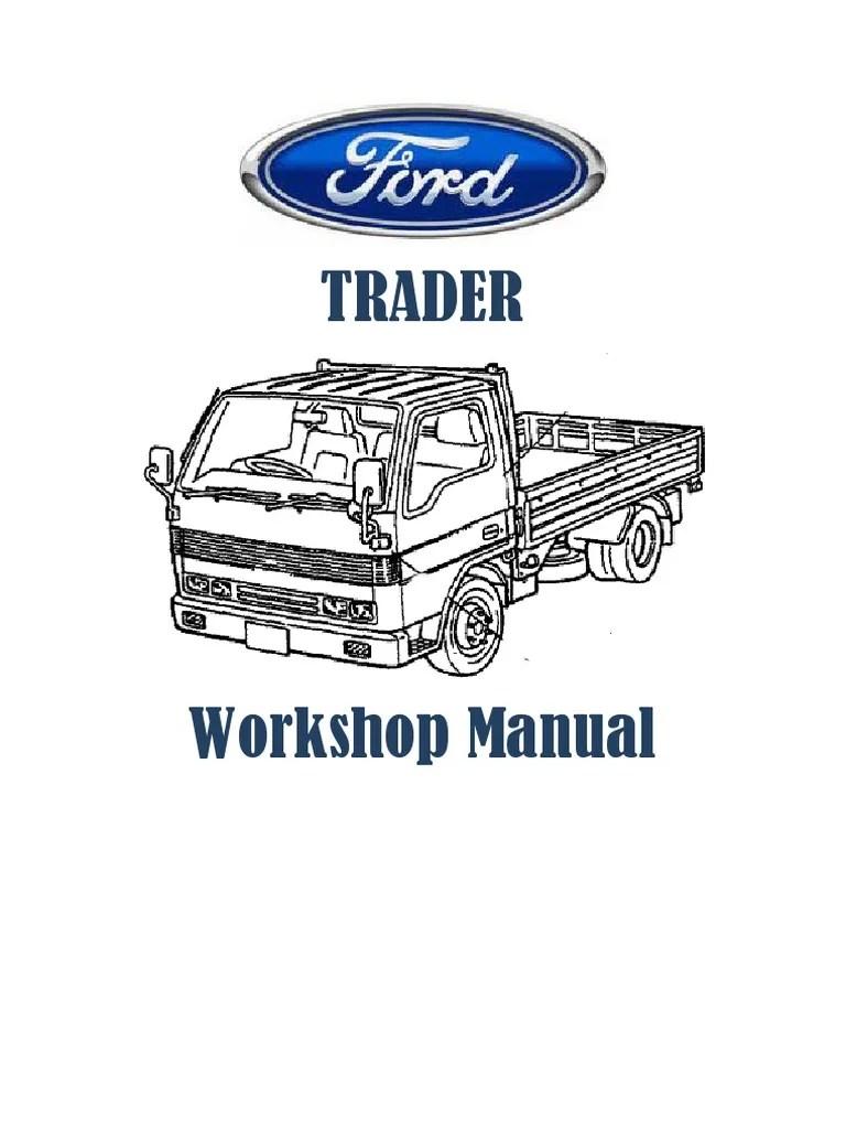 mazda t3000 t3500 t4000 workshop repair manual pdf electrical connector voltage [ 768 x 1024 Pixel ]