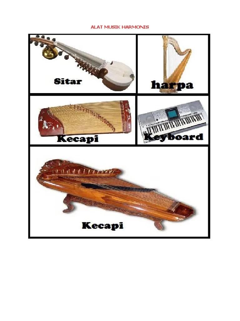 Gambar Alat Musik Harmonis : gambar, musik, harmonis, Musik, Harmonis