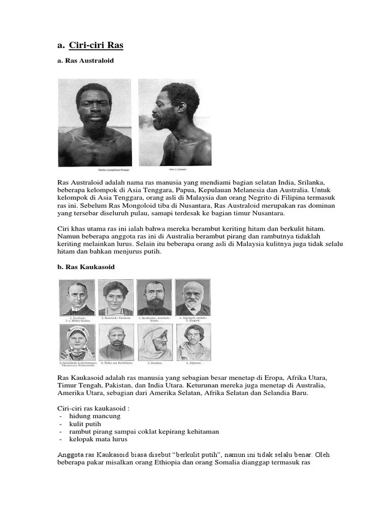 Ciri Ciri Ras Negroid : negroid, Ciri1.docx