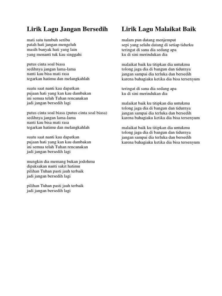 Lirik Lagu Jangan Menangis Untukku : lirik, jangan, menangis, untukku, Lirik, Cukuplah, Sudah, Jangan, Menangis, Untukku