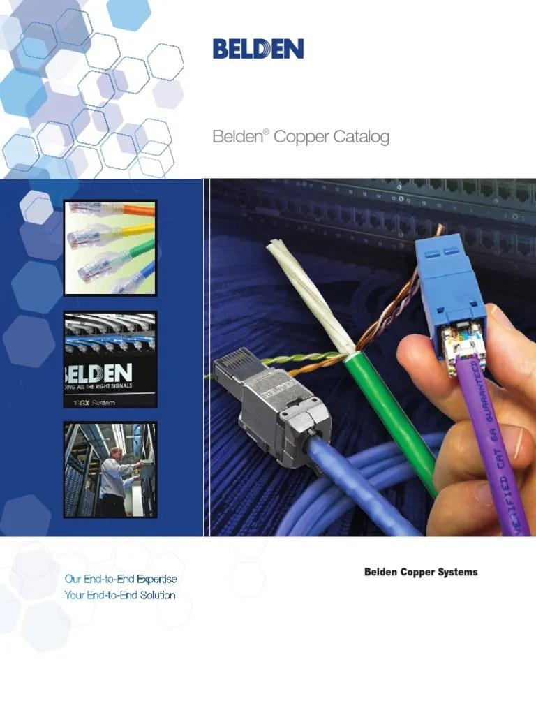 hight resolution of belden cat 6 jack wiring
