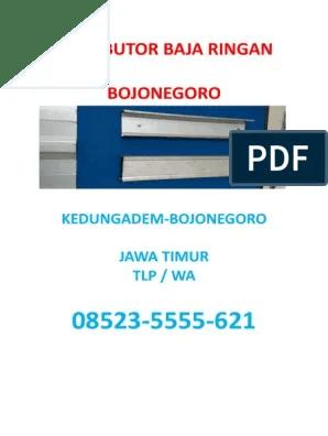 harga baja ringan taso di semarang bojonegoro hub 08523 5555 621