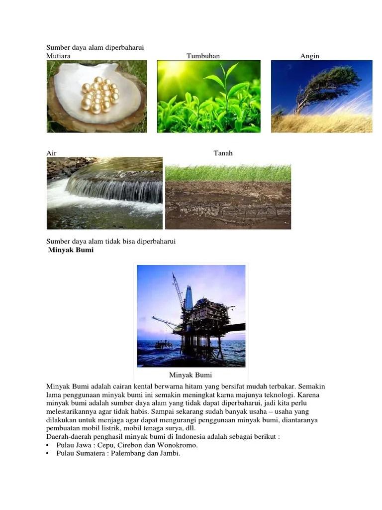 Sumber Daya Alam Dapat Diperbaharui : sumber, dapat, diperbaharui, Sumber, Diperbaharui........................................