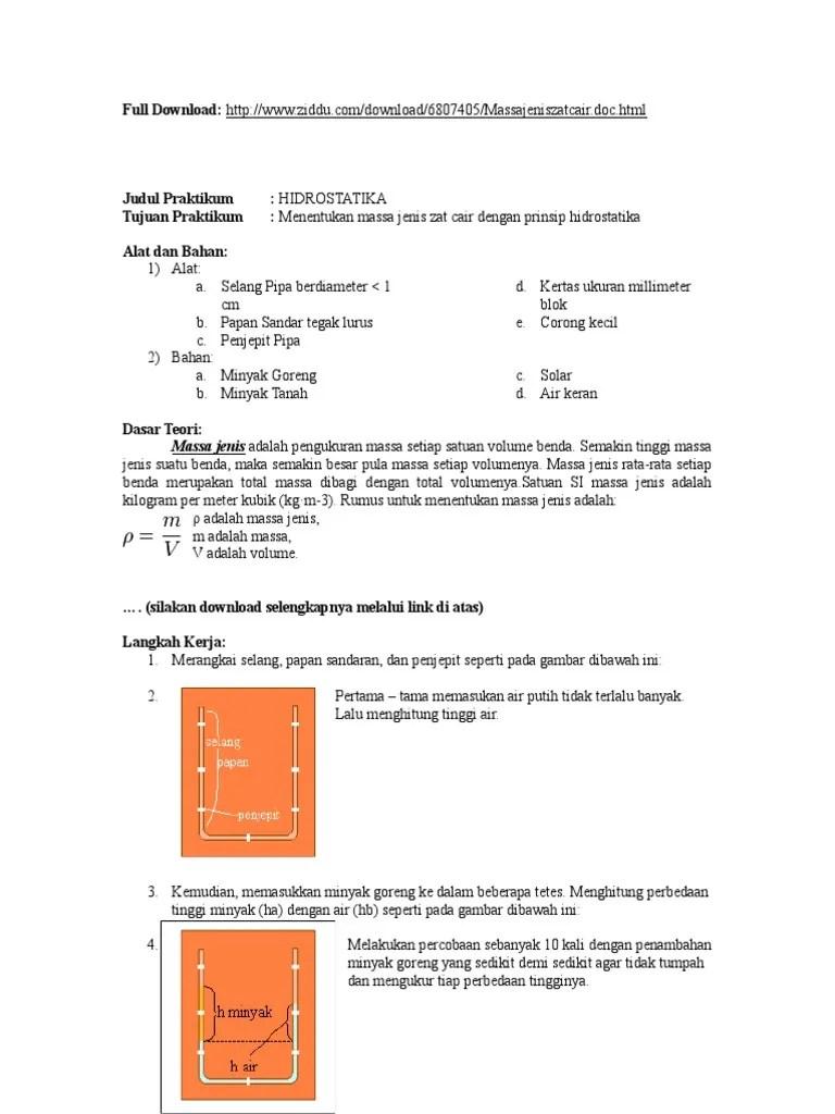 Cara Mencari Massa Jenis Air: 10 Langkah (dengan Gambar) - wikiHow