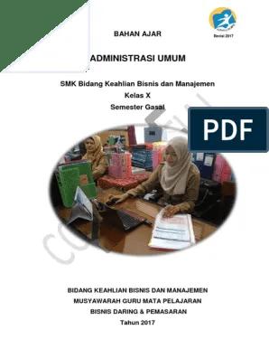 Administrasi Umum Kelas 10 Smk - IlmuSosial.id