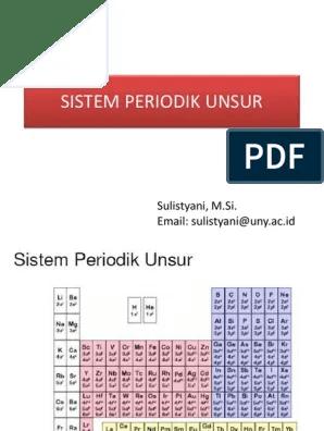 Sistem Periodik Unsur Pdf : sistem, periodik, unsur, Sistem-periodik-unsur.pdf
