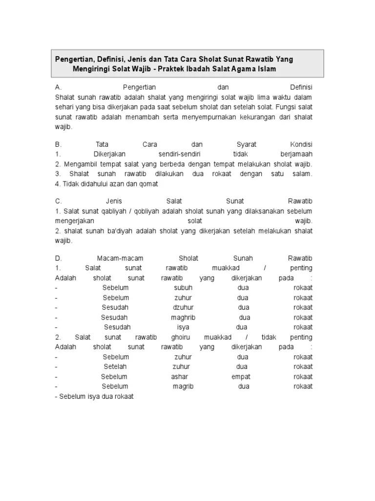 Sholat Qobliyah Subuh Dilakukan Setelah Adzan Atau Sebelum Adzan : sholat, qobliyah, subuh, dilakukan, setelah, adzan, sebelum, Sholat, Rawatid