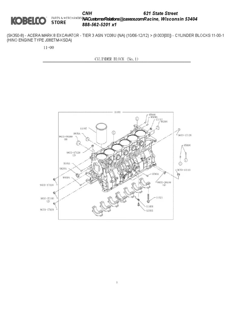 hino engine diagram [ 768 x 1024 Pixel ]