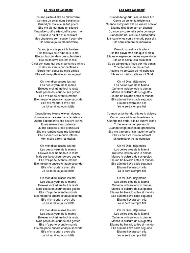 Paroles La mamma par Charles Aznavour - Paroles.net (lyrics)
