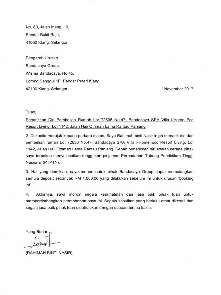 Surat Pembatalan Po : surat, pembatalan, Surat, Batal, Pembelian, Rumah, Cute766