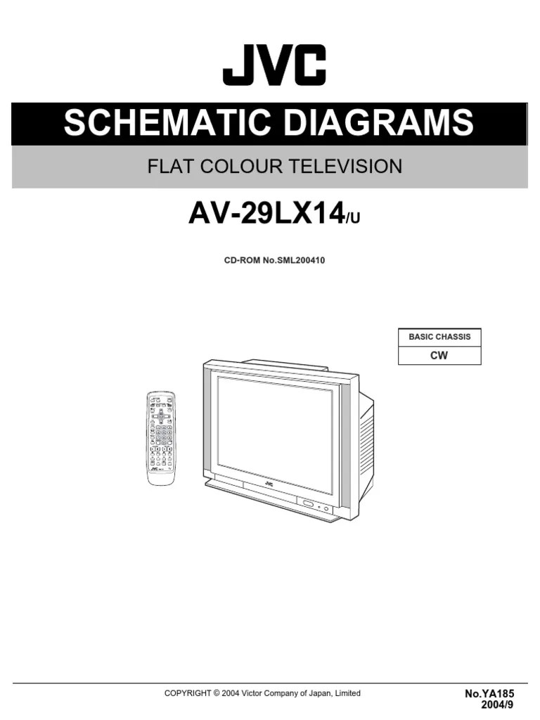small resolution of circuit diagram jvc tv