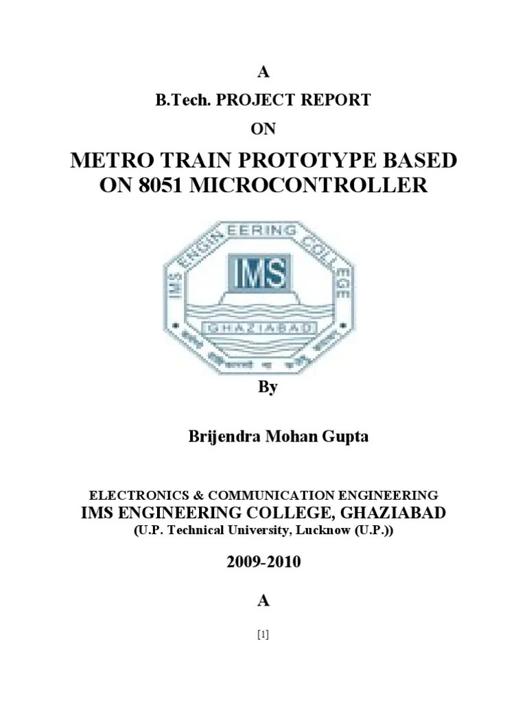 report on project based on 8051 micro controller microcontroller computer data storage [ 768 x 1024 Pixel ]