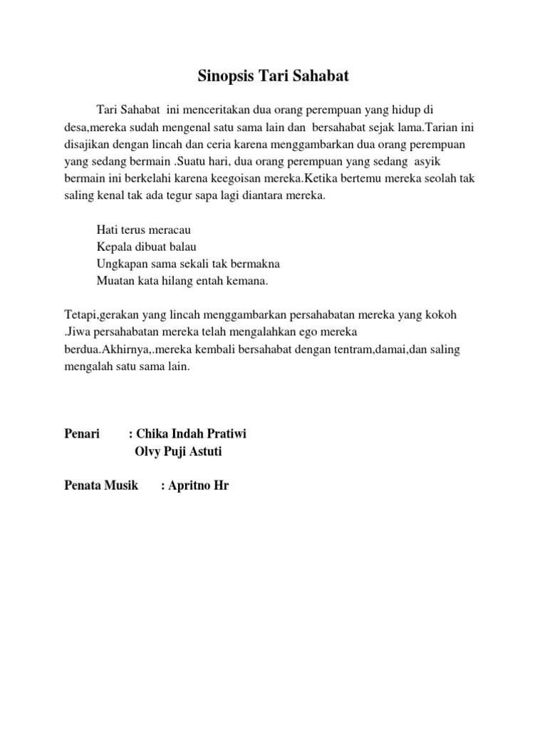 Sinopsis Tari Dadali | SAHABAT SISWA