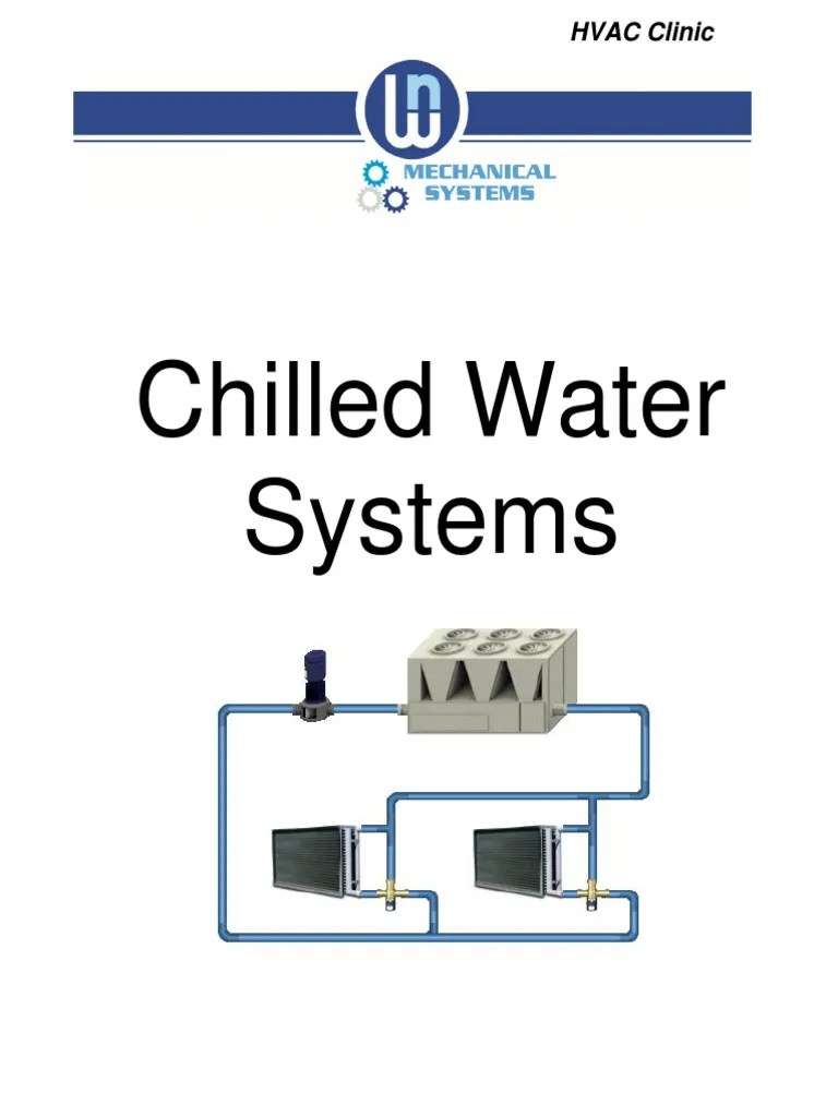 medium resolution of basic chilled water system diagram
