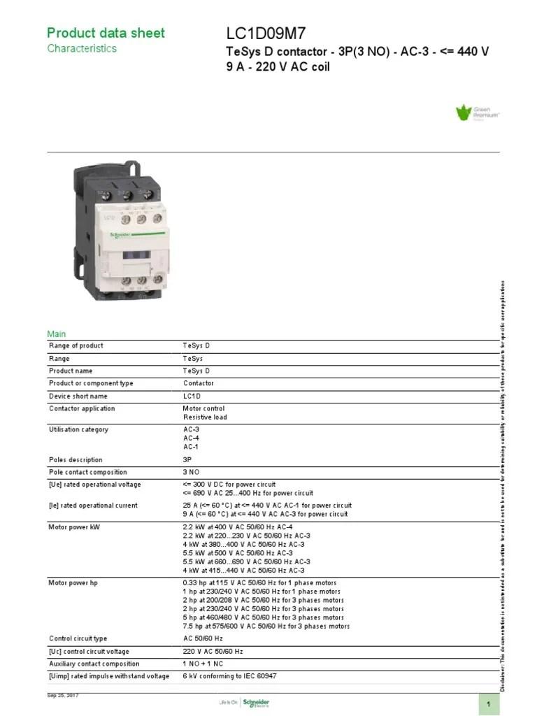 medium resolution of motor starter components finder lc1d09m7 electric power electromagnetism