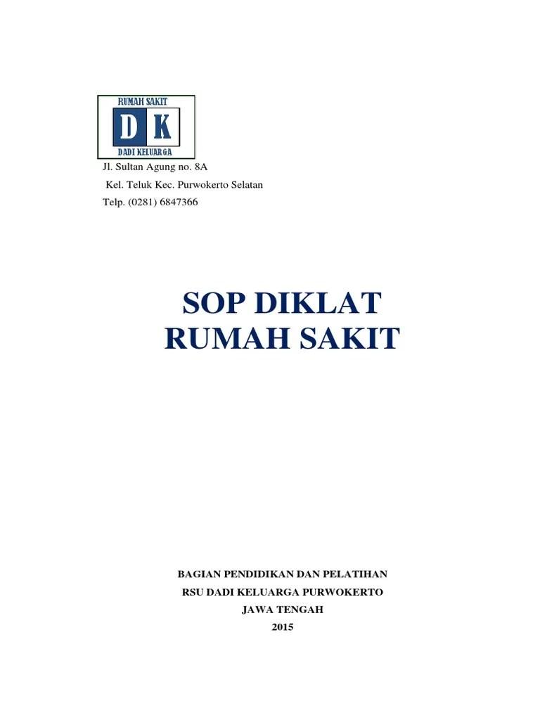 Contoh Sop Diklat Docx