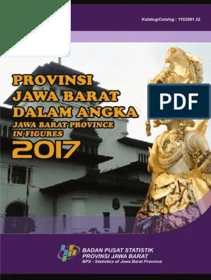 Kota Bekasi Dalam Angka 2017 : bekasi, dalam, angka, Provinsi, Barat, Dalam, Angka